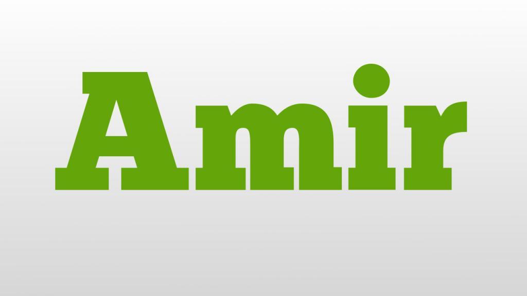 Значение имени Амир: происхождение, характер и судьба