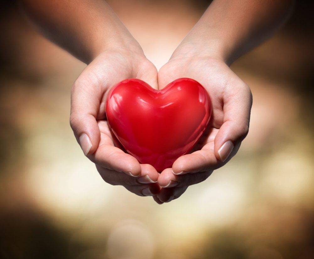 Любящее сердце фото